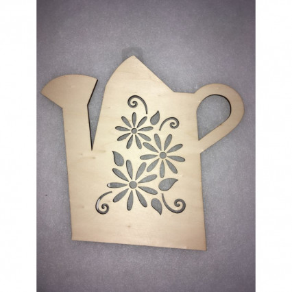 Wood Watering Can Sign