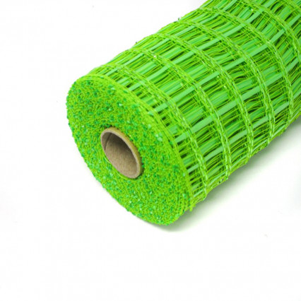"10""x10Y Wide Weave Mesh - Lime"