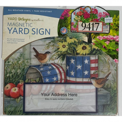 Yard Design - Patriotic Planters