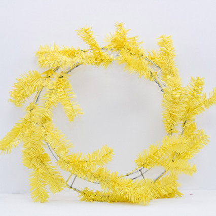"24"" Yellow Pine Work Wreath"