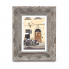 Darice 5423557P Ornate Wire Brush Picture Frame - Wood - Grey - 5 x 7 inches