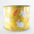 Jascotina 2.5 x 10 YD Yellow Ribbon with Bunnies and Carrots