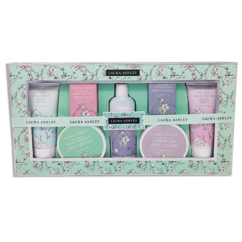 Laura Ashley 7-pc. Total Body Care Gift Set