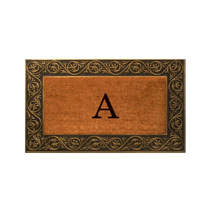 Prestige Gold Monogram Doormat