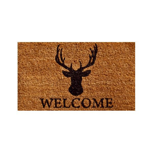 Deer Welcome Doormat - 2' x 3'