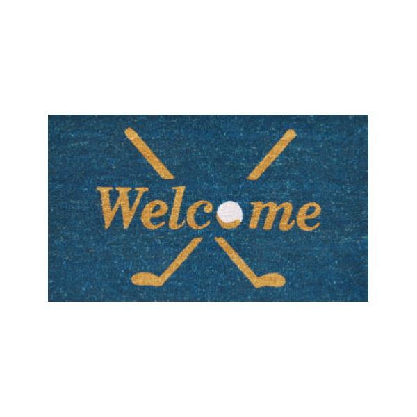 Golf Welcome Doormat - 2' x 3'