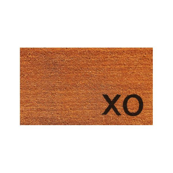 Natural XO Doormat