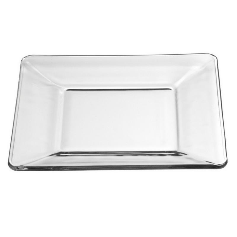 Tempo Glass Salad Plate