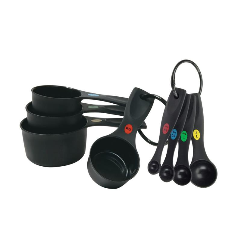 OXO Softworks Plastic Measuring Cups & Spoon Set
