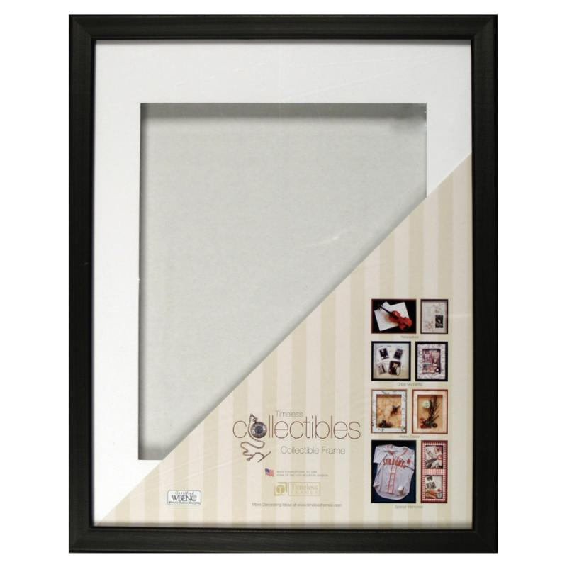 Collectible Shadow Box 16x20, 11x14 Matte - Black