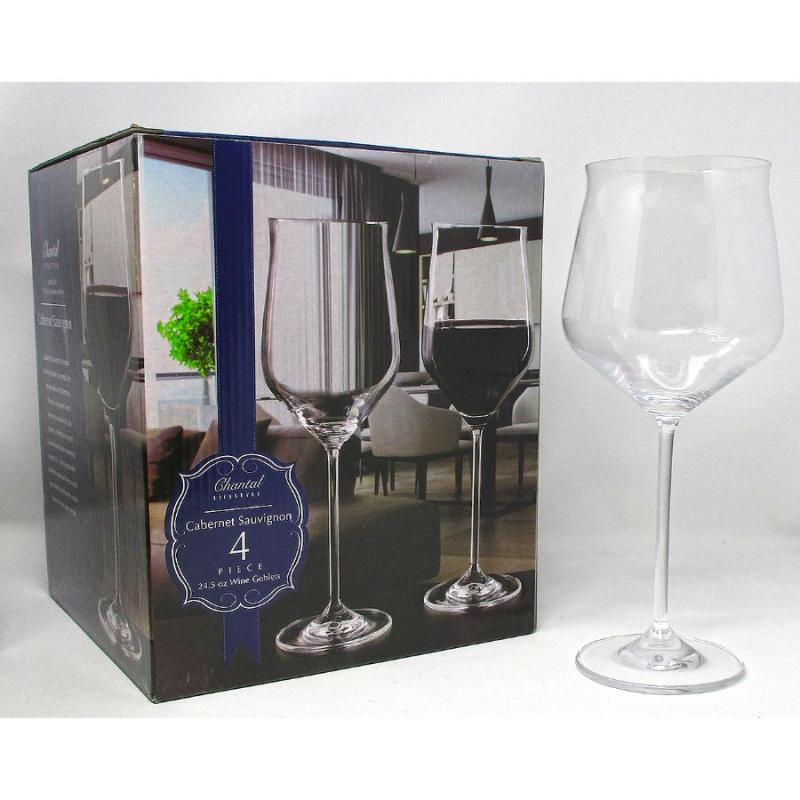 Cabernet Sauvignon Wine Glasses Set of 4