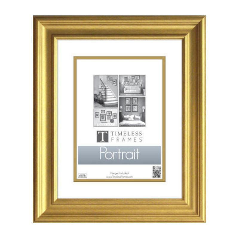 Lauren Portrait Frame 16x20 Gold Home Décor