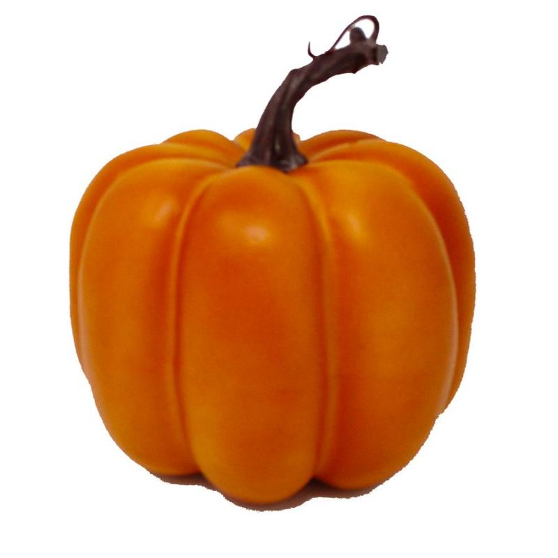 Decorative Pumpkin Orange 5.5""