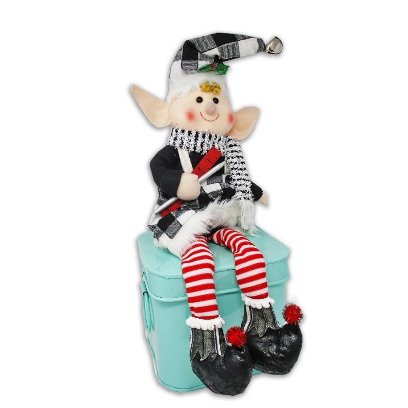 "23"" Plush Christmas Elf Shelf Sitter"