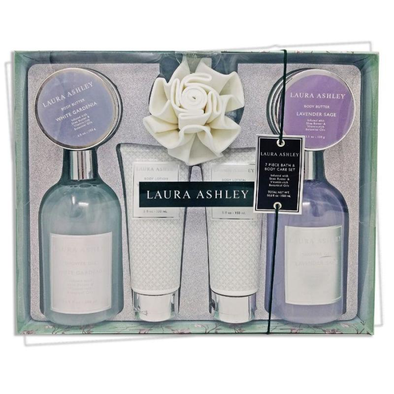 Laura Ashley 7-pc. Bath and Body Set
