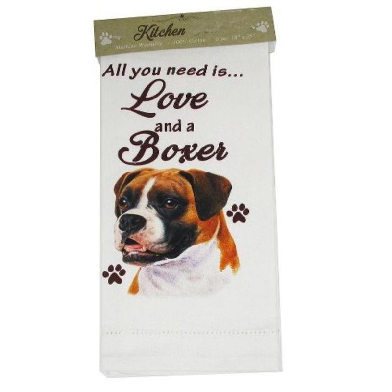Kitchen Dishtowel - Boxer