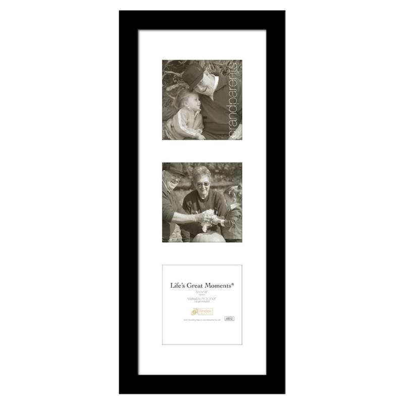 Life's Great Moments Collage Frame - 5.5x14 Black
