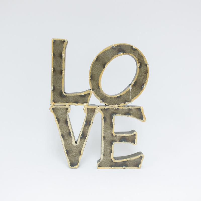 Tin Love Wall Decor