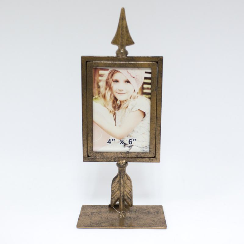 Metal Arrow Table Top Frame - 4 x 6