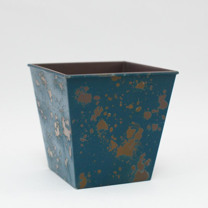 Splatter Planter - Blue