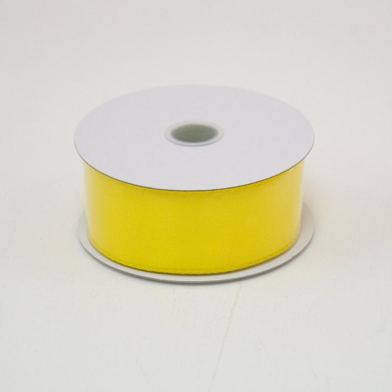 1 1/2 in. (#9) Daffodil Wired Edge Satin Ribbon