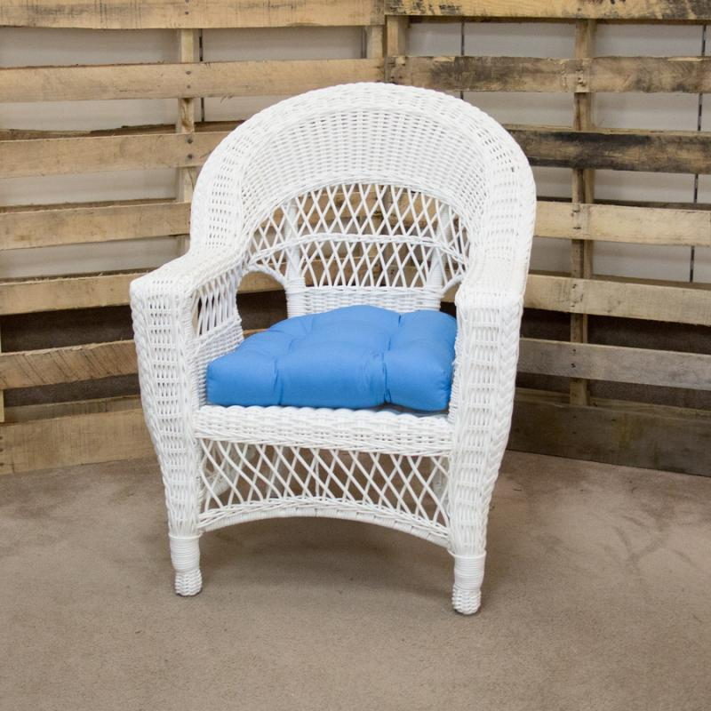 Aruba White Chair by Erwin & Sons