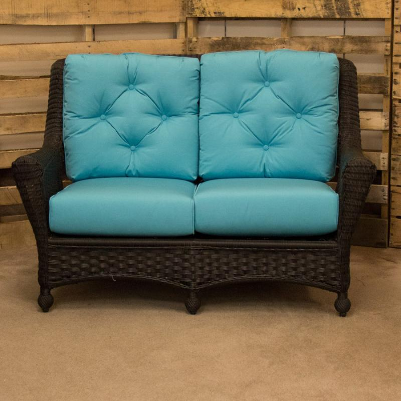 Carolina Ebony Loveseat by Erwin & Sons