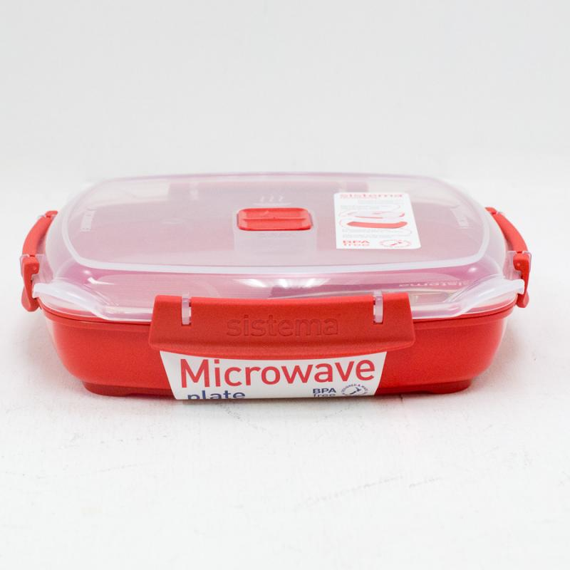 MIcrowave Plate Container