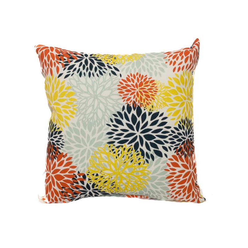 "17"" Pillow - Blooms Perla"