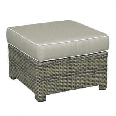 Bainbridge Resin Wicker Outdoor Ottoman