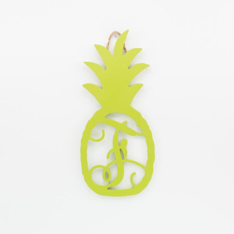 Pineapple Monogram F