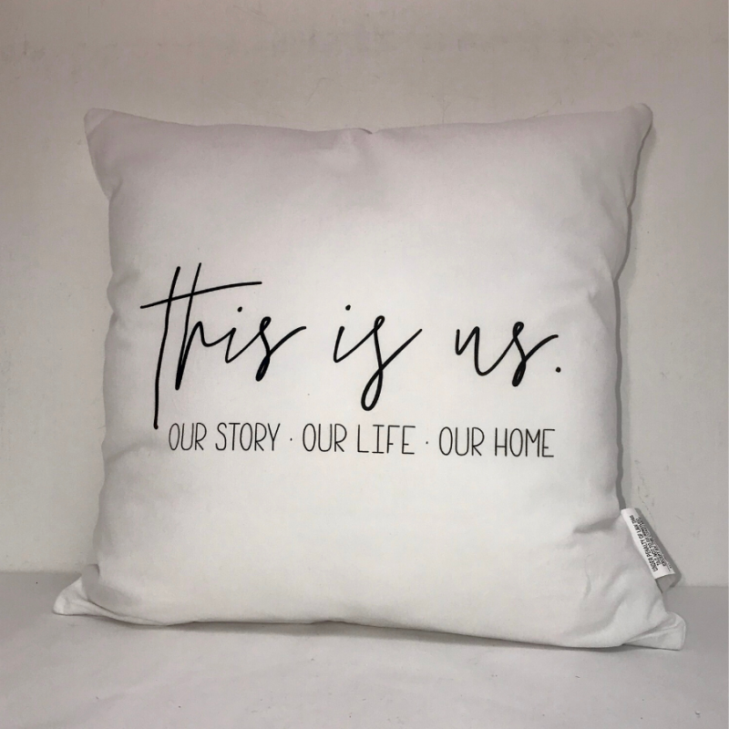 """This Is Us"" Indoor Pillow"