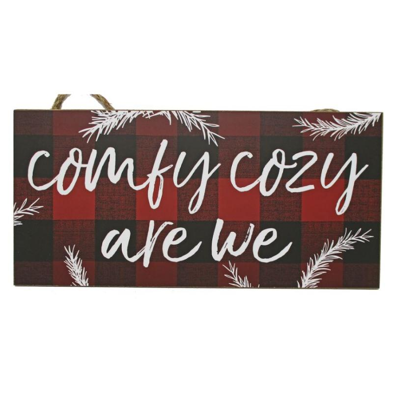 Comfy Cozy Hanging Sign