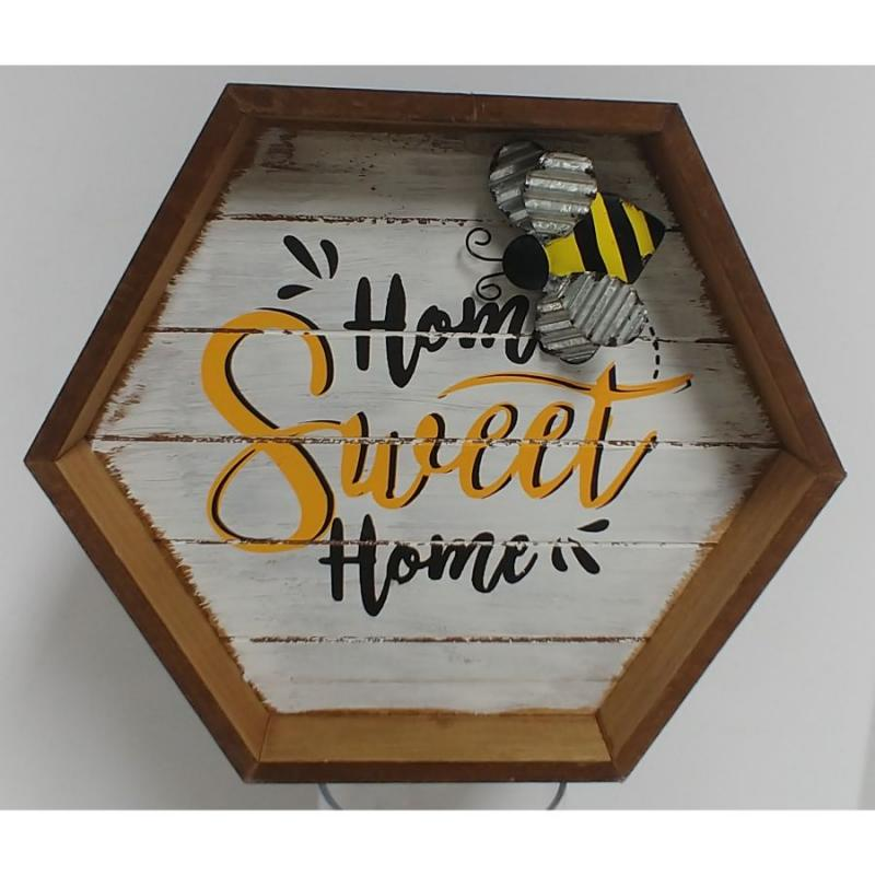 """Bee Home"" Sign"