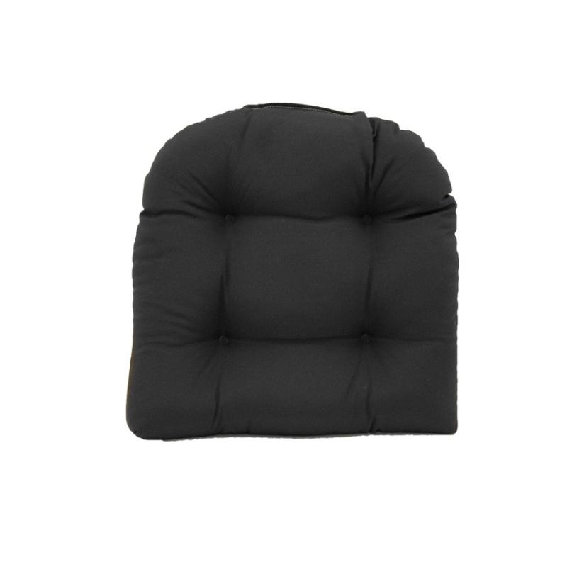 Chair Cushion - Fresco Black