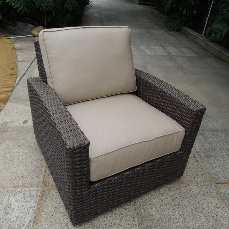 Biscayne Chair - Rosewood