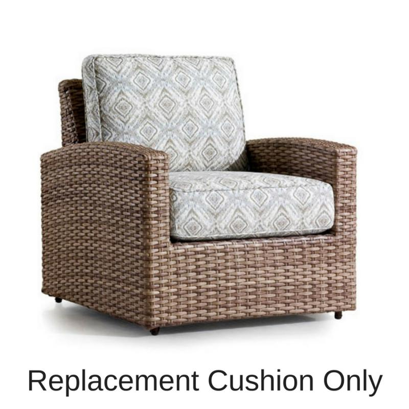 Replacement Cushion - Biscayne Chair by Erwin & Sons