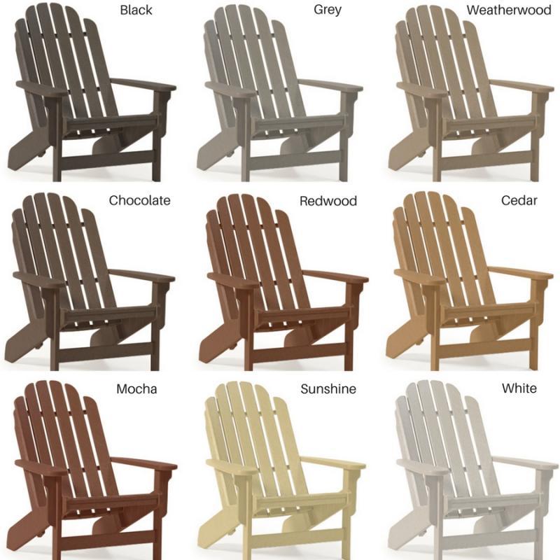 Breezesta Basics Adirondack Chair