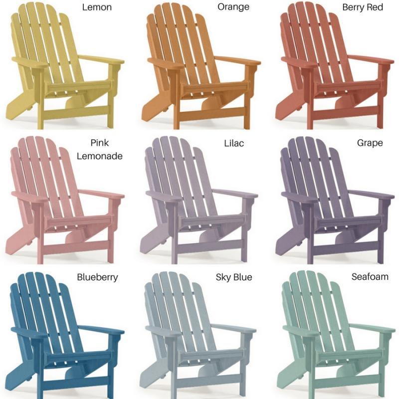 Windsail Adirondack Chair - Right