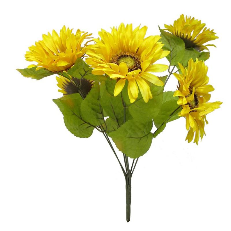 "17"" Sunflower Floral Bush"