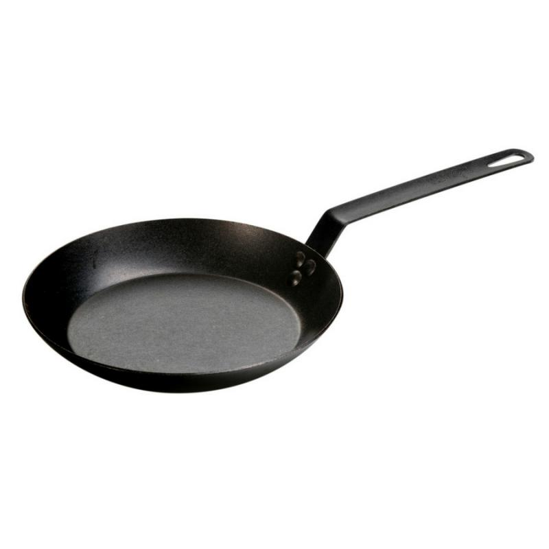 Lodge CRS10 10 Inch Seasoned Carbon Steel Skillet