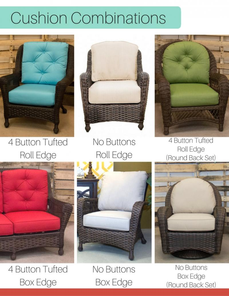 Replacement Cushion - Lounge About Loveseat by Erwin & Sons