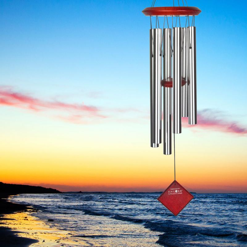 Chimes of Pluto Windchime - Silver