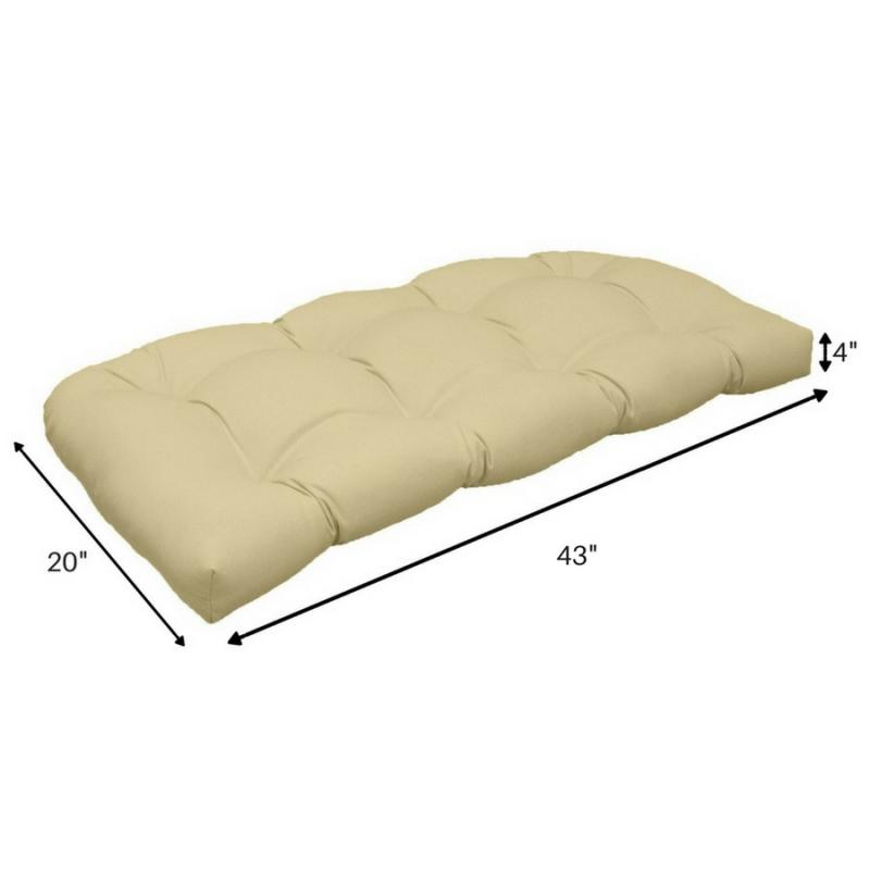 Settee Cushion - Covert Breeze