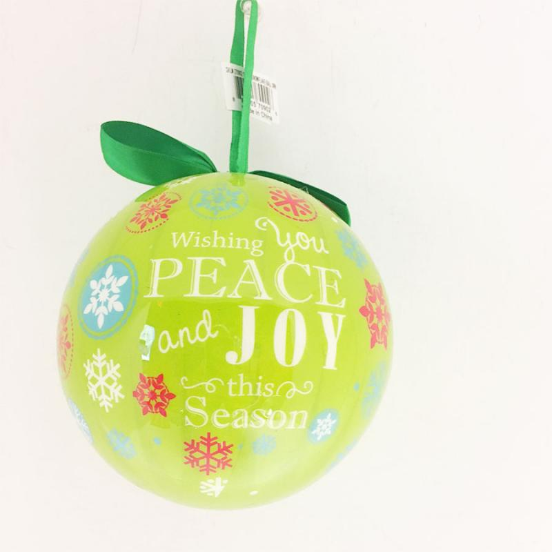 "5"" Pop Snowflake Ball Ornament"