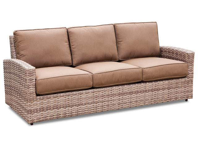 Erwin & Sons Biscayne 3-Seater Sofa Resin Wicker