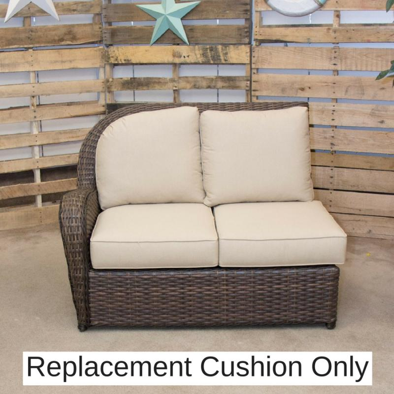 Replacement Cushion - Havana Left Loveseat by Erwin & Sons