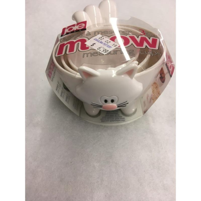 """Meow"" Measuring Cups"