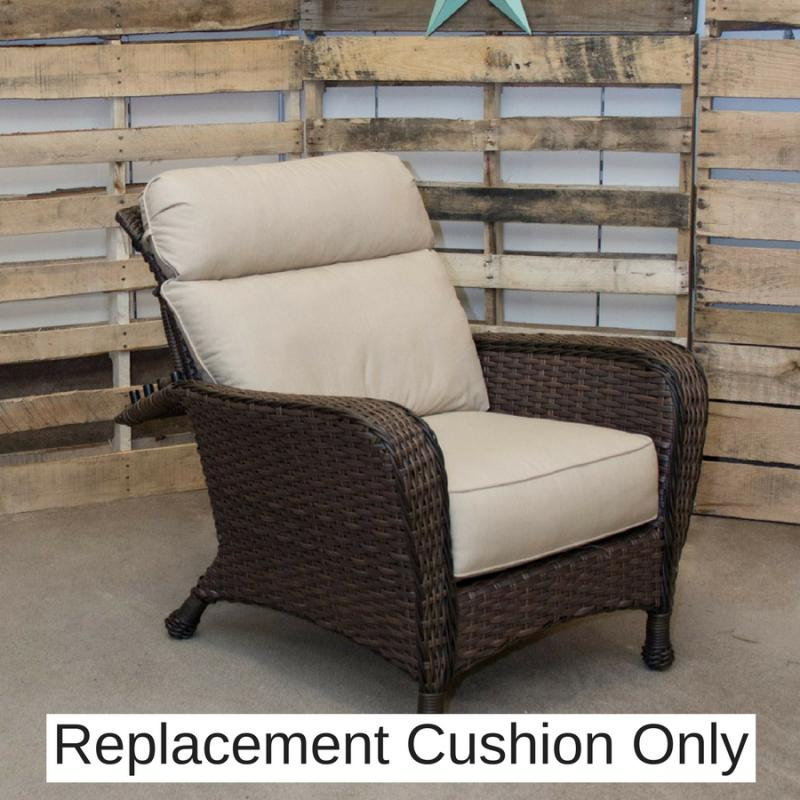 Exceptional Replacement Cushion   Havana Morris Chair By Erwin U0026 Sons