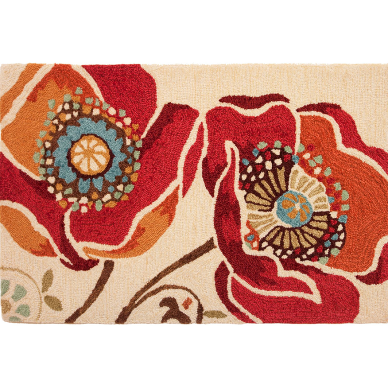 Homefires PY-DAP009 Moroccan Red Rug